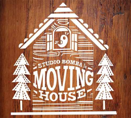 Studio Bomba is moving.