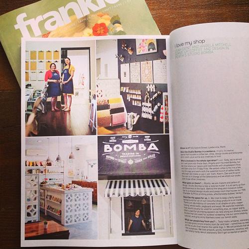 Studio Bomba: Frankie Magazine