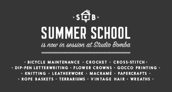 Summer School at Studio Bomba