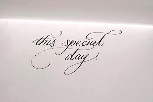 Studio Bomba Shop   Complimentaty calligraphy day